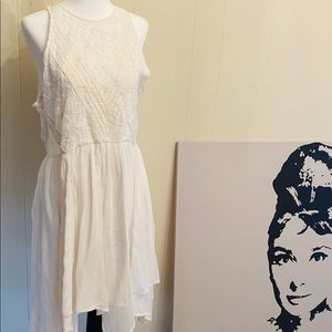 Abercrombie and Fitch Ivory summer sun dress
